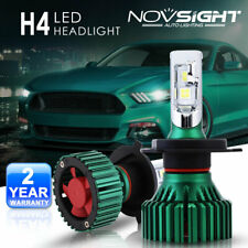 NOVSIGHT Universal 16000LM H4 9003 LED Headlight Bulbs White - CREE XHP50 Chips