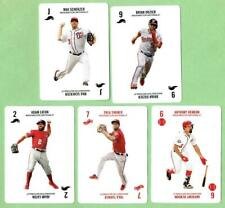 WASHINGTON NATIONALS ~ 2019 Topps 52-Card Game Card Lot