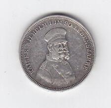 Orden Medaillie Kaiser Wilhelm I  Brandenburg / Preussen Silber 1897