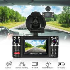 "2.7"" Car DVR Recorder Camera 1080P HD Dual Lens Rear View Dash Cam Night Vision"