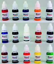 Iron Sakura Tattoo INK Pigment High Quality 15 Colors 15ml or 1/2oz Each 15 inks