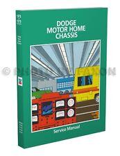 1978-1979 Dodge Motor Home Shop Manual Motorhome Service M300 M400 M500 M600
