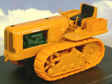 U/H HACHETTE DIECAST 1/43 1948 HOTCHKISS 30/40 CATERPILLAR TRACTOR ORANGE TR45