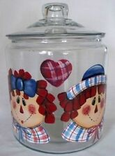 HP RAGGEDY ANN & ANDY COOKIE JAR/NEW ITEM BY MB