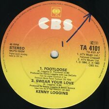 KENNY LOGGINS Footloose / Whenever I Call You Friend (1984 U.K. 5 Track 12inch)