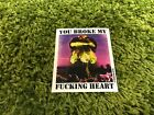 Supreme F/W 2015 You Broke My F cking Heart Sticker