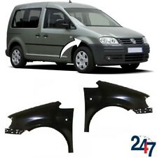 NEW VOLKSWAGEN VW CADDY 2004 - 2010 FRONT WING FENDER LEFT RIGHT PAIR SET