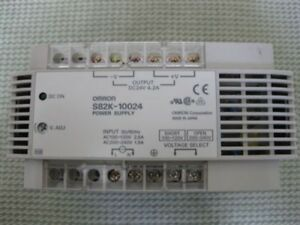OMRON S82K-10024 Power Supply 24VDC 4.2A 110-220V Input