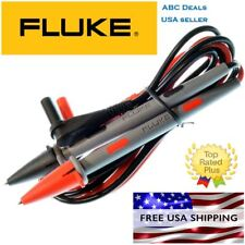 FLUKE TL71 10A Premium DMM Test Lead set Digital Multimeter Probes USA Seller