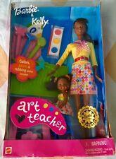 "RARE!! Limited Edition: Mattel barbie collection: ""Barbie & Kelly"" ART TEACHER"