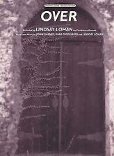 Over - Lindsay Lohan - 2004 Sheet Music