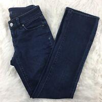 LOFT Ann Taylor Women's Curvy Sexy Bootcut Jeans Pants Size 25/0 Petites