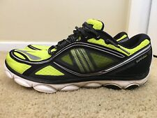 Brooks PureFlow 3, 1101621D707, Men's Running Shoes, Black/Yellow, Size 11.5