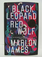 SIGNED - MARLON JAMES Black Leopard, Red Wolf 1ST PRINTING hcdj 2019 - BRAND NEW