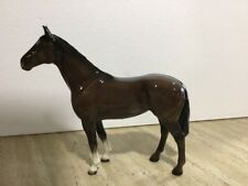 Reduced Beswick Pottery Larger Thoroughbred Bay Horse Pony Gift Collection Model