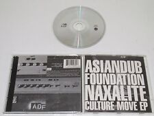 ASIATIQUE DUB FOUNDATION/NAXALITE CULTURE MOVE EP(FFRR FCD 348 01) CD ALBUM