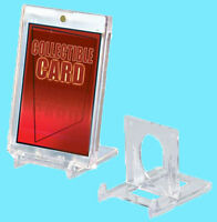 5 Ultra Pro CARD HOLDER 2-PIECE ADJUSTABLE STANDS Display Sports Trading Photos