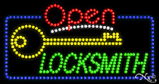 "New ""Open Locksmith"" 32x17 Solid/Animated Led Sign W/Custom Options 25532"