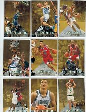 1994-95 SP BASKETBALL 165-CARD COMPLETE SET GRANT HILL JASON KIDD ROOKIES