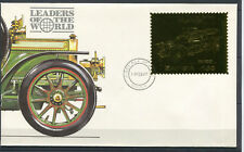 Od 41. Zambia. Transport. Car. Cover. Gold. Fdc.