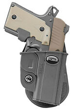 FOBUS TACTICAL PADDLE HOLSTER KMSG FOR KIMBER MICRO MICRO 9 SIG SAUER P238 P938