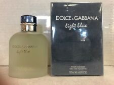 LIGHT BLUE by Dolce & Gabbana 4.2 oz /125 ml.EDT Spray for Men - SEALED IN BOX-