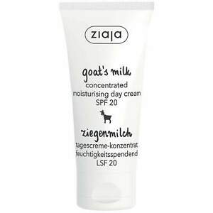 Ziaja Goat's Milk Concentrated Moisturising Day Cream Spf20 50Ml OFFICIAL UK