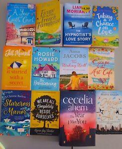 Ladies CHIC LIT book bundle 12 fiction books, MODERN summer, LOVE STORY, secret