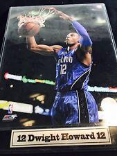 AUTHENTIC DWIGHT HOWARD #12 ORLANDO MAGIC 2009 NBA PHOTO FILE PLAQUE