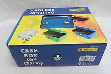 L'acciaio smaltato Cash Box & 2 chiavi-Pratico PORTAGIOIE da Viaggio-Nuovo
