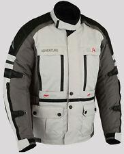 Mens Motorcycle Jacket Biker Motorbike Rider Textile Waterproof Touring Coat-XL