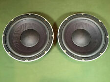 """JBL 125A 10"""" Wooders- Reconed With Brand New Cones - Alnico"""