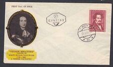 AUSTRIA 1950 VIENNESE MINIATURES & MILLOCKER OPERETTA ART MUSIC FIRST DAY COVERS