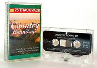 Country Round-Up : Audio Cassette - Waylon Jennings, Frankie Laine, Donna Fargo
