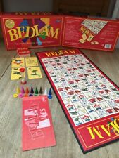 BEDLAM The chaotic, shouting, card swapping game! by Drummond Park 1998 Vintage