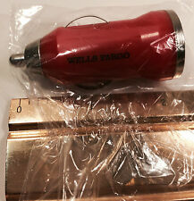 CAR USB CHARGER CIGARETTE LIGHTER RED CHARGER WELLS FARGO COLLECTIBLE FREE SHIP