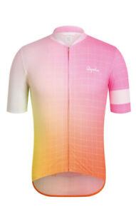 Rapha Cycling Classic Flyweight Print Jersey Size Large RCC