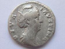 Diva Faustina Senior. Died AD 140/1. AR Denarius   2,70 g /  17 mm     200