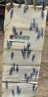 "Authentic Vintage Japanese Kimono Fabric 14"" wide x Over 12 YARDS Long"