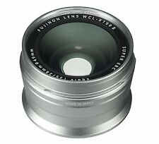 Fujifilm Wide Conversion Lens WCL-X100 II for X100/X100S/X100T/X100F -Silver-