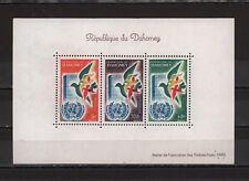 Dahomey 1961 Souvenir Sheet United Nations Dove Birds Airmail Sc# C169
