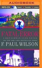 Repairman Jack: Fatal Error 14 by F. Paul Wilson (2014, MP3 CD, Unabridged)