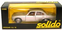 SOLIDO VINTAGE NO. 1096 1/43 JAGUAR XJ12  XJ6 - SILVER -  MINT BOXED