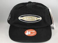 Kids Youth Size NFL New Orleans Saints Vintage Snapback Hat Cap Black