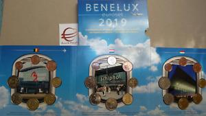 2019 Benelux 24 monete 11,64 euro Belgio Olanda Lussemburgo Belgique Pays bas