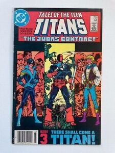 Tales of the Teen Titans 44 VF 8.0 Very Fine 1st Appearance of Nightwing Key Bk