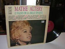 33 TOURS / LP--MATHE ALTERY--13 VALSES DE LA BELLE EPOQUE