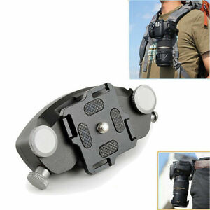 Camera Clip Quick Release Backpack Holster Hanger Quick Strap Waist Belt Pocket