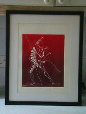 """Adagio"" Artists Proof Signed Edith Brozak - Images of Ballet Dancers"