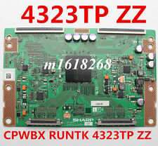 NEW  T-con board SHARP CPWBX RUNTK 4323TP ZZ Toshiba 40XV650C RUNTK4323TP ZZ